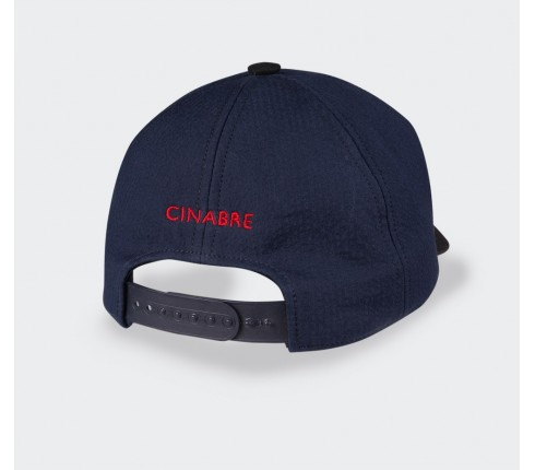 Cinabre cap Marlon n°2 made of silk and cotton