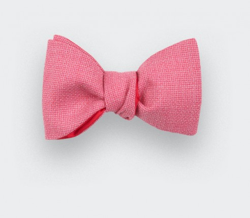 Bow Tie Maille Pink