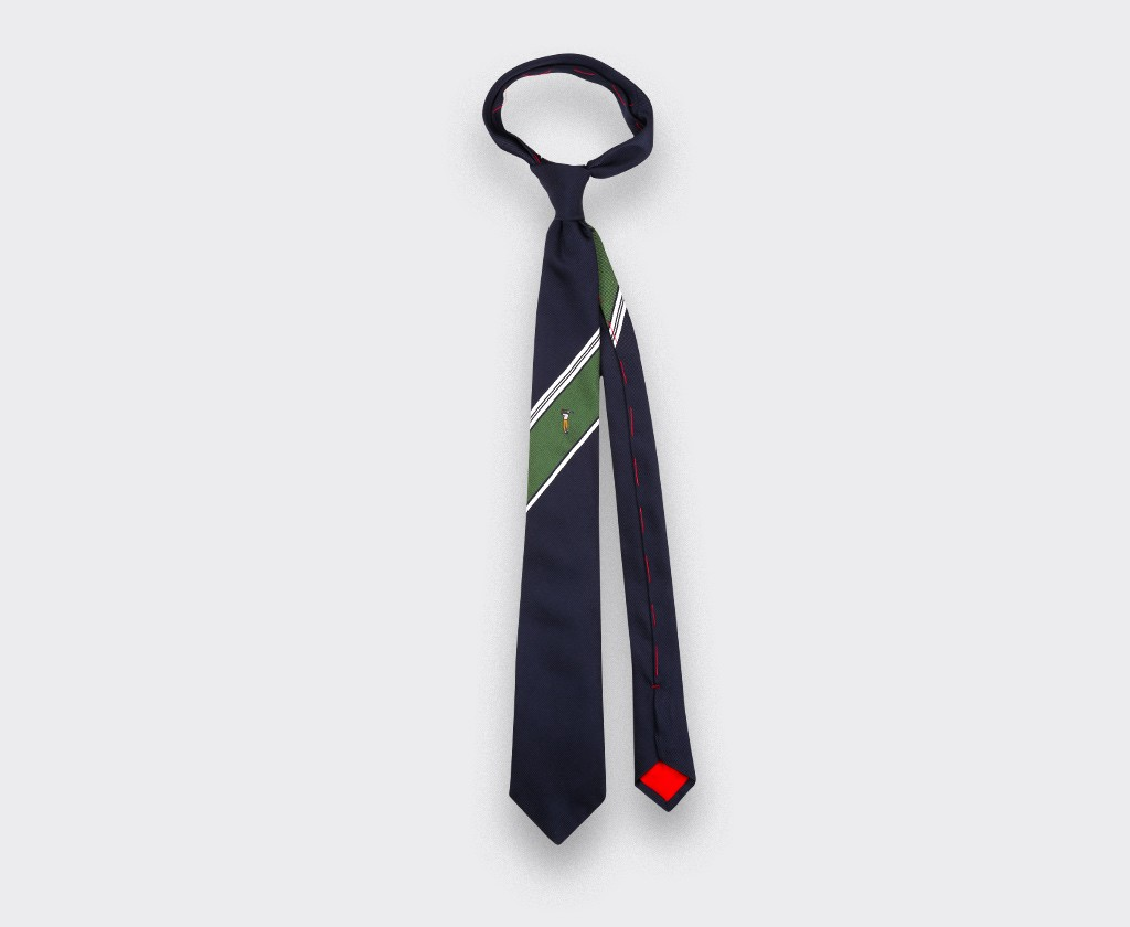 Ben Hogan golf tie - silk - Cinabre Paris