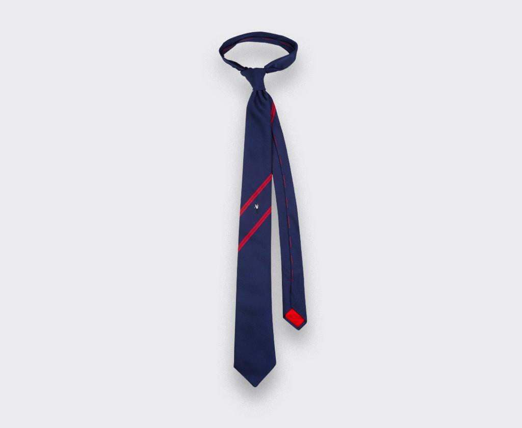 Phil Mickelson golf tie - silk - Cinabre Paris