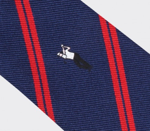 Phil Mickelson golf tie - silk - Cinabre Paris