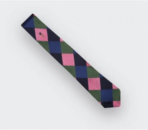 """cravate """"Golden Bear"""" - soie - Cinabre Paris"""
