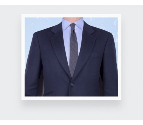 Navy Blue Cinabre cashmere tie - cinabre paris