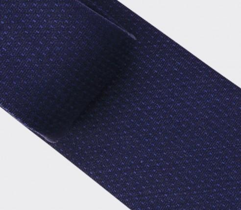 Cravate Pois Camaïeu Marine - laine - Cinabre Paris