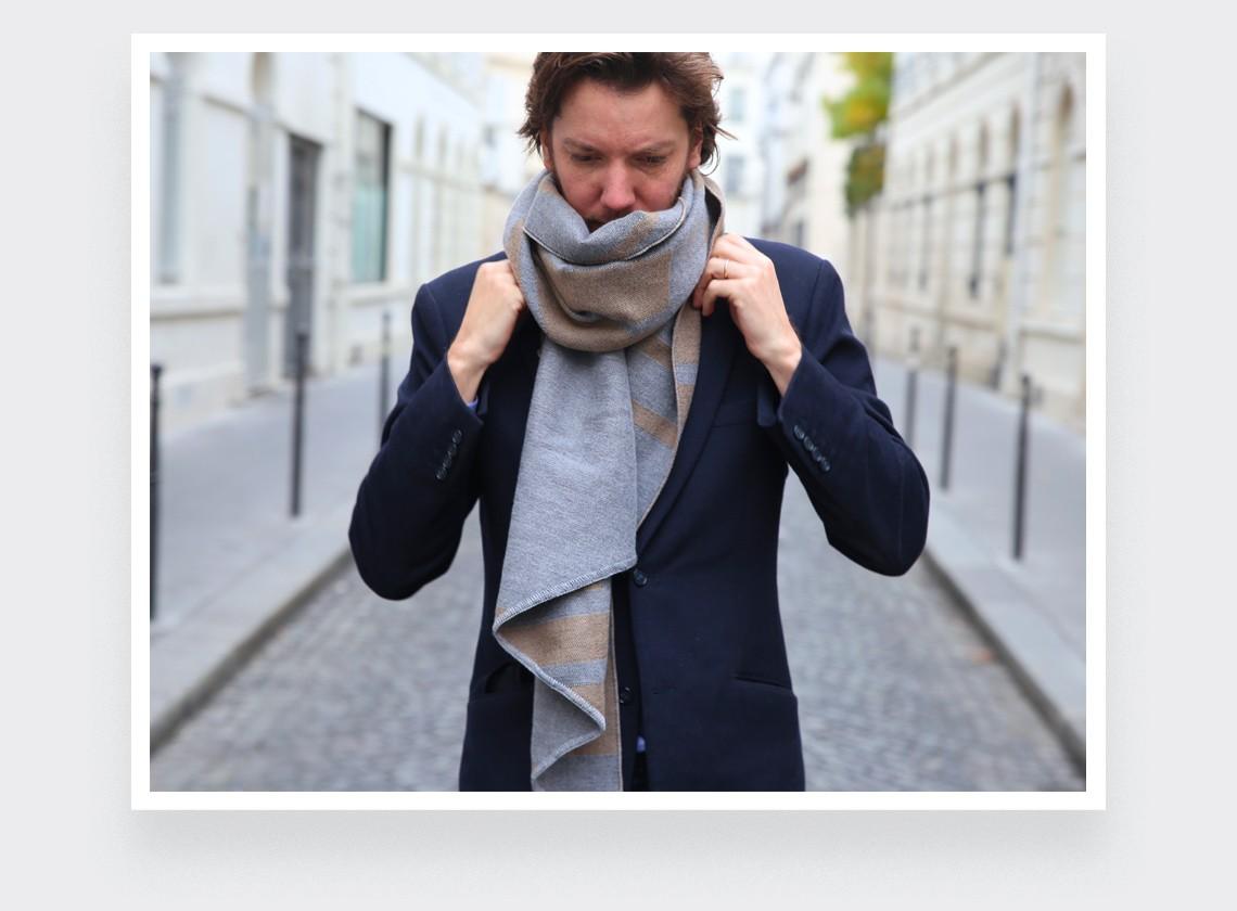 Beige scarf - cinabre paris