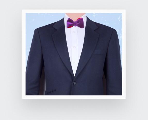Lavender Velvet Bow Tie - cinabre paris
