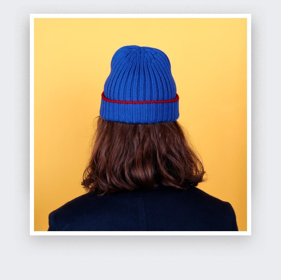 Bonnet Bleu Electrique Cinabre