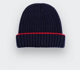 bonnet bleu marine - cinabre Paris
