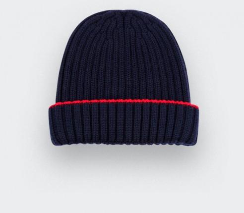 navy blue beanie - cinabre paris