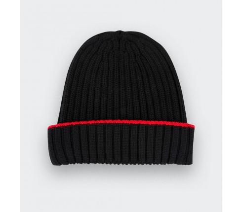 Bonnet noir Cinabre fait en France