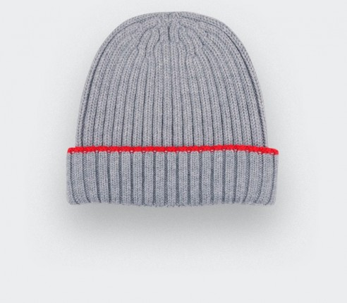 Grey beanie by Cinabre paris