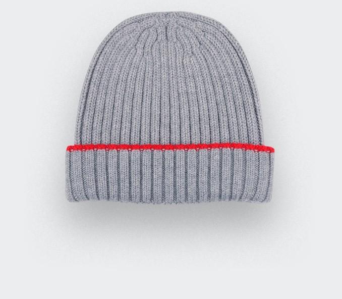 Bonnet gris par Cinabre paris
