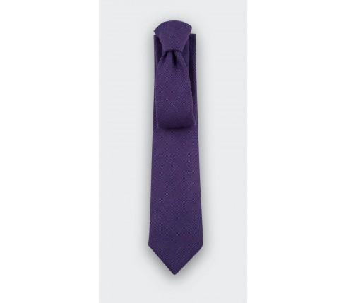 Purple Mesh Tie - cinabre paris