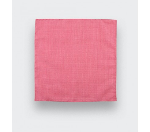 CINABRE Paris - Pocket square - Pink Mesh - Hand Made