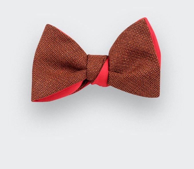 rust mesh bow tie - cinabre paris