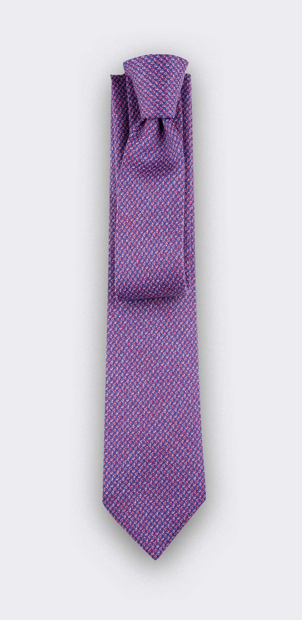 cravate météorite rose - cinabre paris