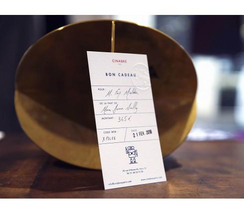 Tote bag - 570euros gift card - Cinabre