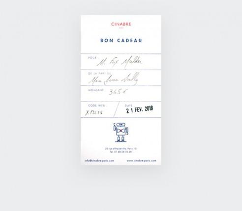 Gloves - 185euros gift card - Cinabre
