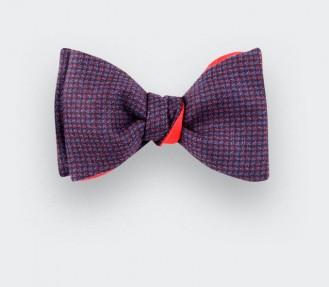 pink meteorite Bow Tie