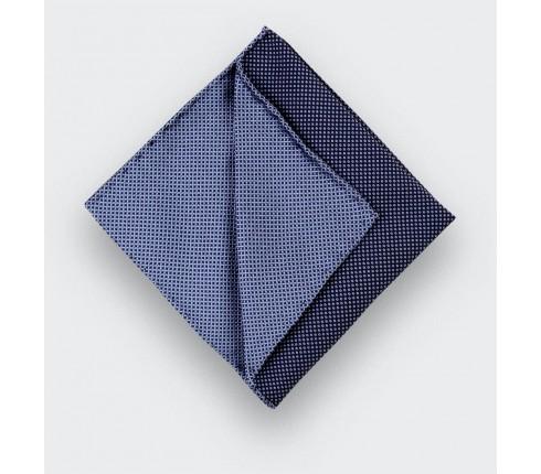 CINABRE Paris - Pochette - Caviar Soie Bleu ciel - Fait Main