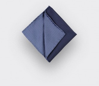 Light Blue Silk Pocket Square