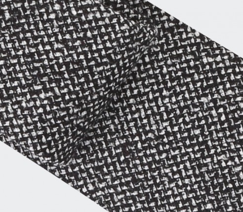 Cravate Météorite Noir et Blanc - Cinabre Paris