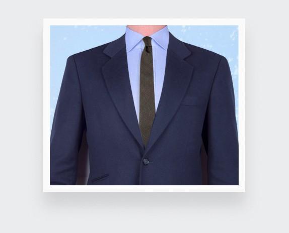 Cravate Météorite kaki - Cinabre - Handmade