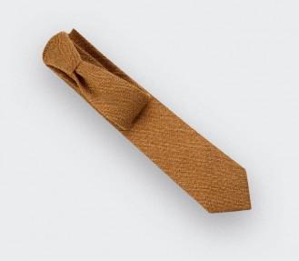 Mustard mesh Tie