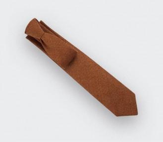 cravate maille rouille - cinabre paris