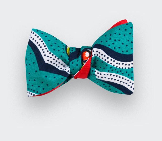 Noeud papillon Wax Pois - CINABRE Paris