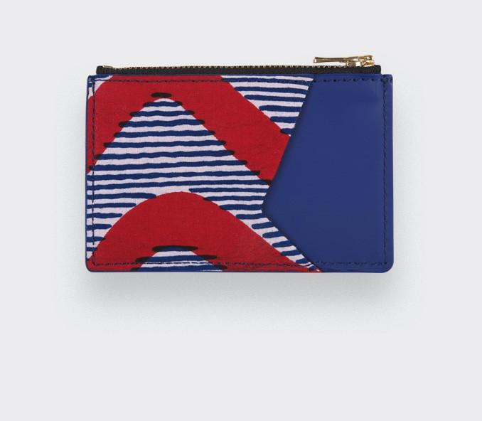Red Waves Wax Card Holder - CINABRE Paris