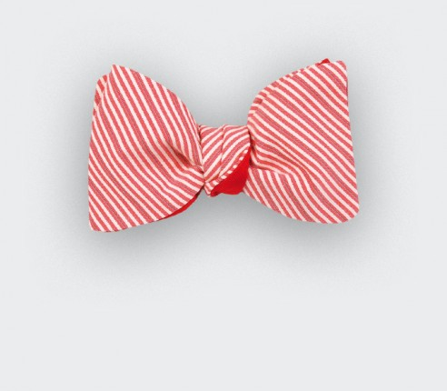 Red Sunbed Bow tie - Cinabre Paris
