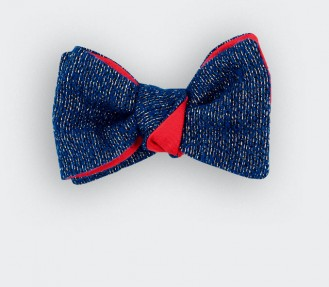 Blue 1001 Nights Bow Tie