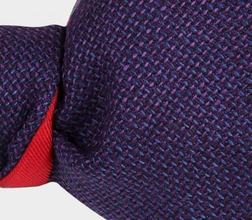 noeud papillon maille violet - cinabre paris