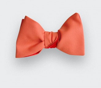 Red Coral Bow Tie