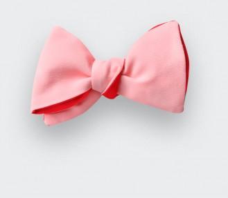 Flamingo Pink bow tie