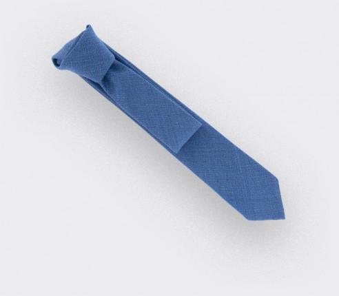 Cravate Maille Bleu Clair - Cinabre Paris