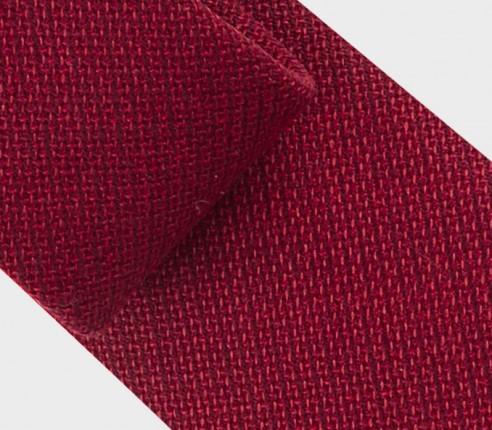Cravate Maille Rouge - Cinabre Paris