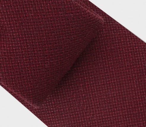Cravate Maille Bordeaux - Cinabre Paris
