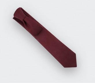Burgundy mesh Tie