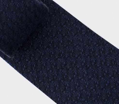 Blue Cosmique Tie - Handmade in France - Cinabre Paris
