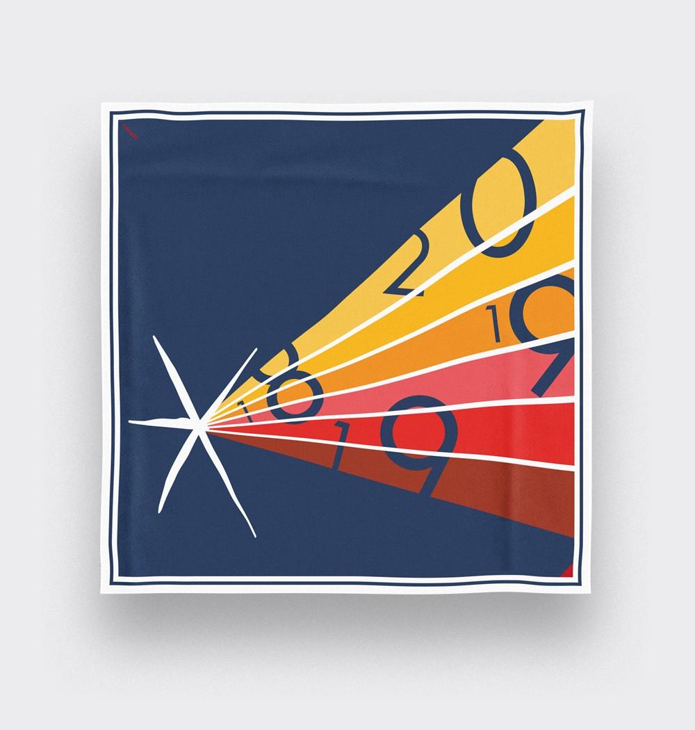 ESCP Cinabre scarf limited edition