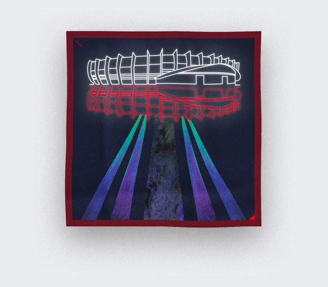 Foulard UFO Parc des Princes PSG x CINABRE