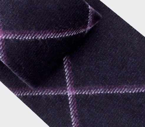 Purple Guernesey Tie - Cinabre Paris