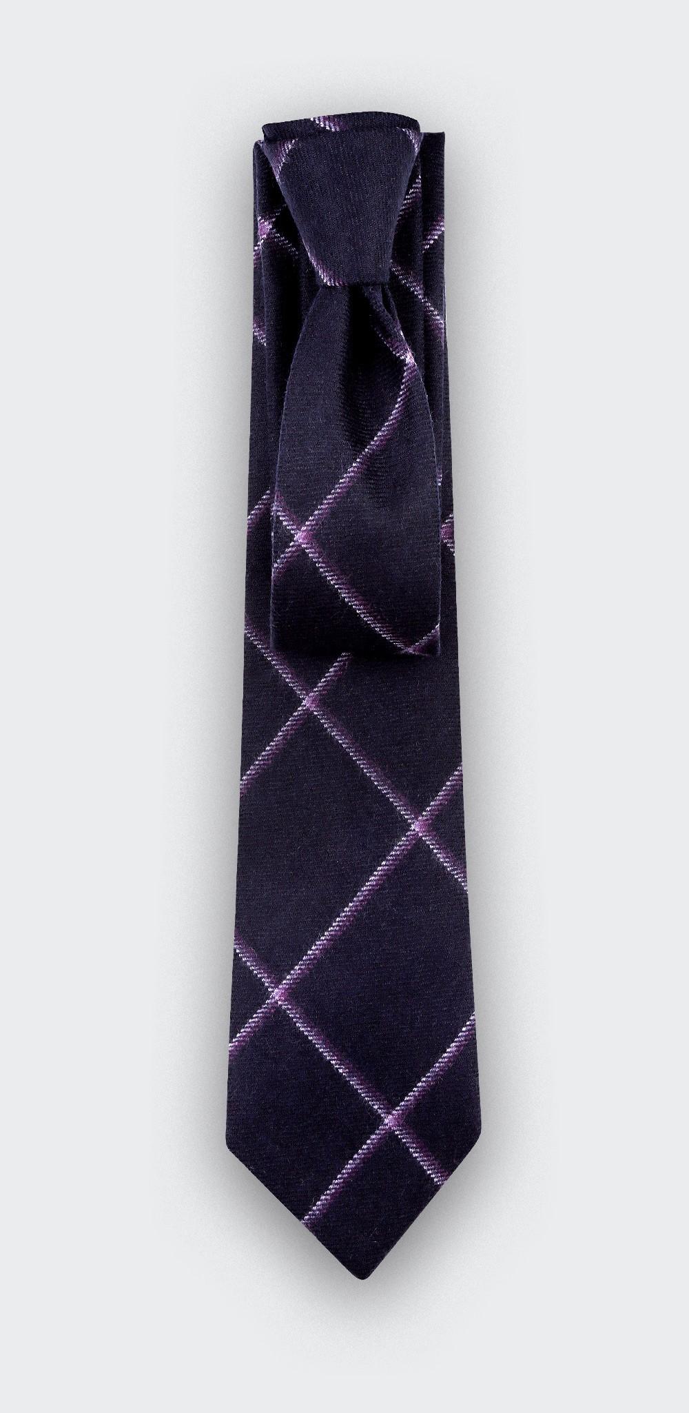 Cravate Guernesey Violet