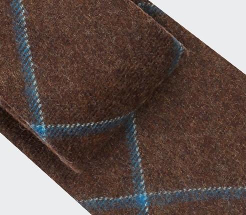 Cravate Guernesey Marron