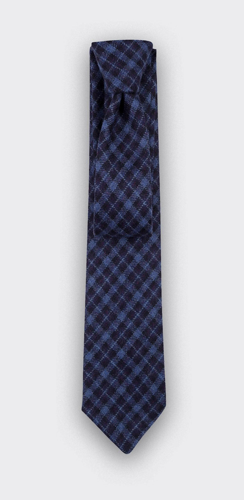 Cravate Alderney Bleue - Cinabre Paris