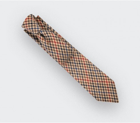 Cravate Alderney beige - Cinabre Paris