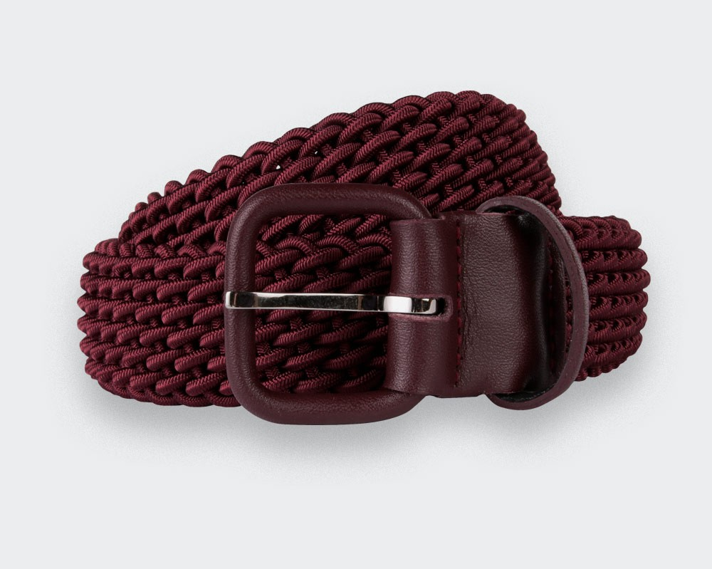 Handwoven belts in France by Cinabre Paris
