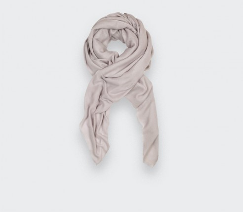 Cream Cashmere Giant Stole - Cinabre Paris